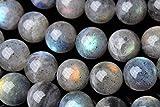 【 福縁閣 】【 ラブラドライト 】6mm 1連(約38cm)_R1647-6/A7-1 天然石 パワーストーン ビーズ