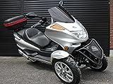 IceBear(アイスベアー) リバーストライク 150cc逆三輪 バイク 普通免許 シルバー HL150FS