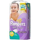 パンパース Mサイズ (6~11kg) テープ はじめての肌へのいちばん 50枚