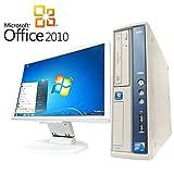 【Microsoft Office2010搭載】【Win7 搭載】【超大画面22インチ液晶セット】NEC MA-C/新世代Core 2 Duo 2.93GHz/メモリ4GB/HDD500GB/DVDスーパーマルチ/中古デスクトップパソコン