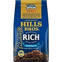 【Amazon.co.jp限定】 ヒルス コーヒー豆 (粉) リッチブレンド 750g+50g増量