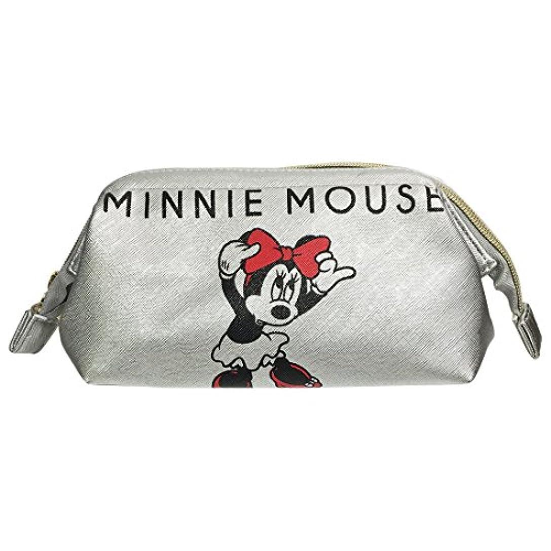 女性前提疑いディズニー シボ合皮ワイヤーポーチ ミッキーマウス&ミニーマウス APDS3446