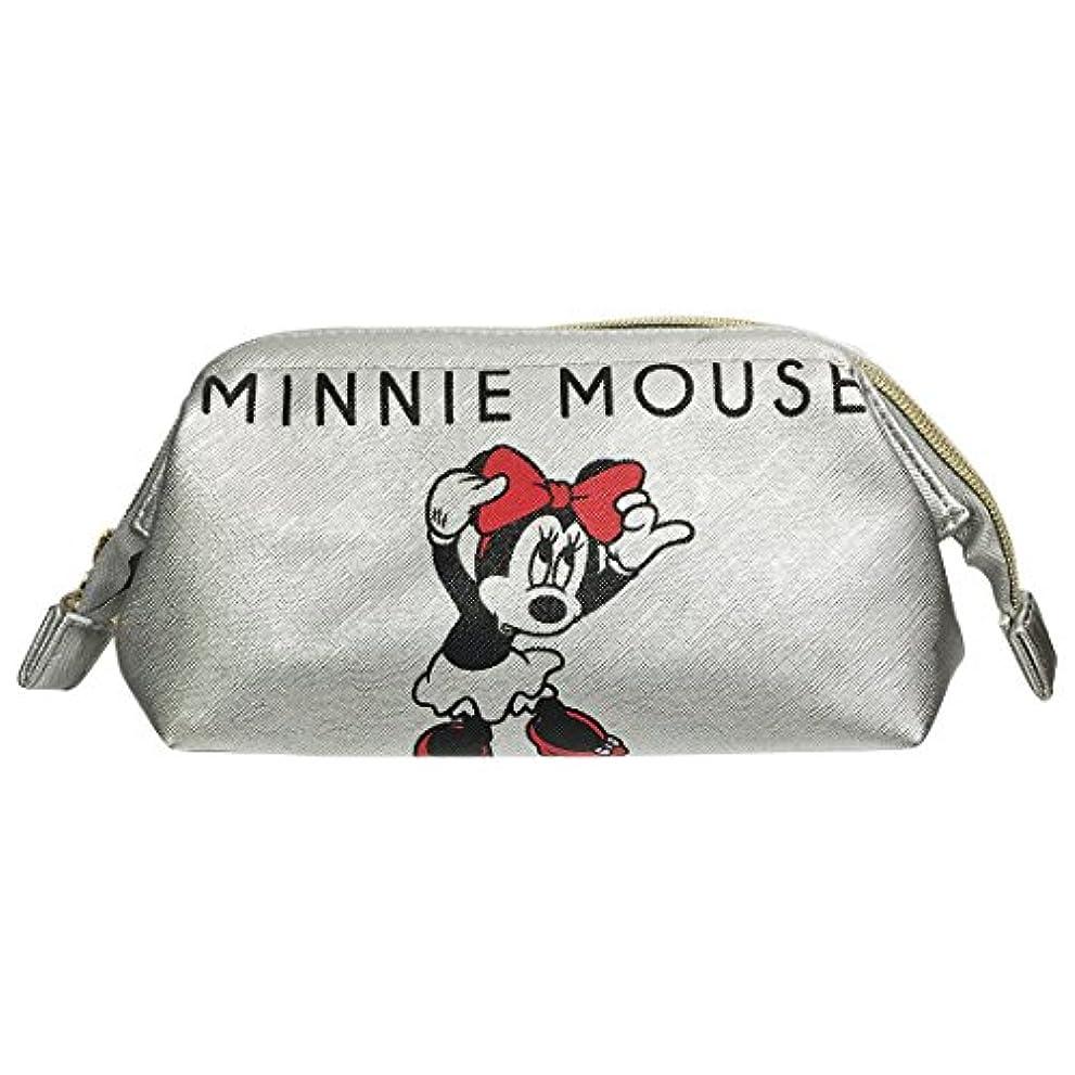 競合他社選手葬儀なんでもディズニー シボ合皮ワイヤーポーチ ミッキーマウス&ミニーマウス APDS3446