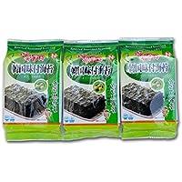 [0276] オッドンザ オリーブ油 玉童子海苔 (カット) お弁当のり 韓国海苔 箱売り 1BOX(3P×24袋) 韓国産 [並行輸入品]