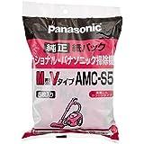 パナソニック 交換用紙パック  M型Vタイプ 5枚入  AMC-S5