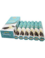Govinda ®お香 – Vanilla – 120 Incense Sticks、プレミアムIncense、Masalaコーティング