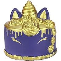 Squishies ジャンボ 低反発 子供用 Lovely Collection Toys かわいい漫画のユニコー ケーキの香り付き ストレス解消おもちゃ 11x10cm マルチカラー ILUCI