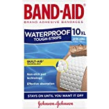Band-Aid Tough Strips Waterproof Extra Large 10 Count