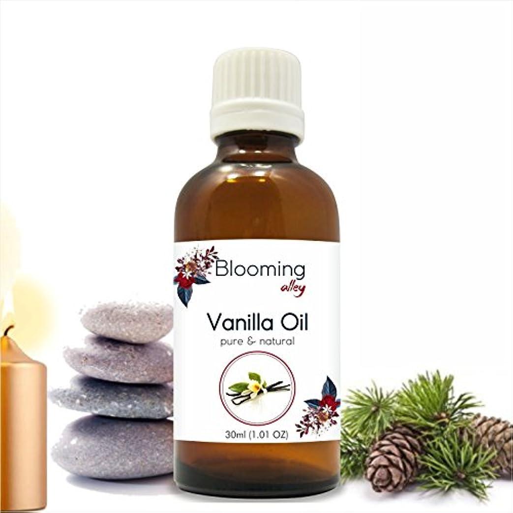 恥わずらわしい一節Vanilla Oil (Vanilla Planifolia) Essential Oil 30 ml or 1.0 Fl Oz by Blooming Alley