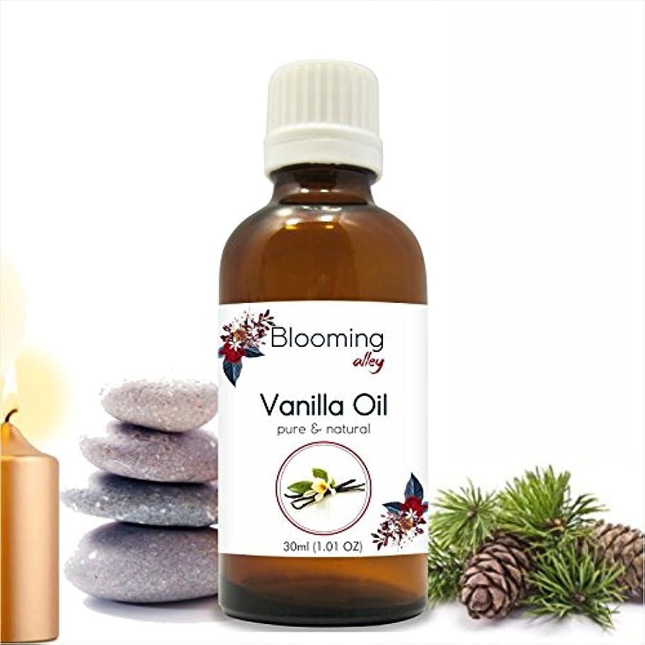 ラジウム荒れ地ポゴスティックジャンプVanilla Oil (Vanilla Planifolia) Essential Oil 30 ml or 1.0 Fl Oz by Blooming Alley