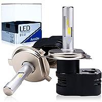 [AutoSite] LEDヘッドライト H4 Hi/Lo 切り替えタイプ 4200Lm 6000k コンパクト設計 オールインワン ハイビーム ロービーム AS80