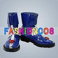★サイズ選択可★女性25CM UA0689 魔法少女リリカルなのはStrikerS キャロ・ル・ルシエ コスプレ靴 ブーツ