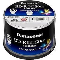 Panasonic 録画用4倍速ブルーレイディスク片面2層50GB(追記型) スピンドル50枚 LM-BRS50L50S【WEB限定】