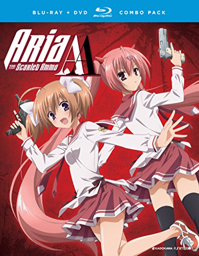 Aria the Scarlet Ammo Aa: The Complete Series [Blu-ray] [Import]