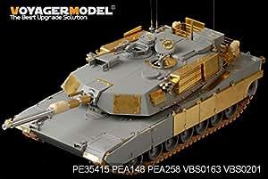 現用アメリカ M1A1 AIM エイブラムス基本パーツ (ドラゴン3535キット対応) [PE35415] Modern US Army M1A1 AIM Abrams Basic (For DRAGON 3535)