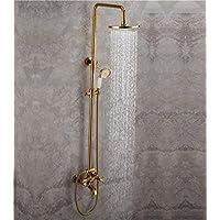 The Arch Aizeシャワーシャワーシャワーのすべての銅、ゴールドゴールドハンドシャワーシャワーヘッドシャワーコスチューム組み合わせ