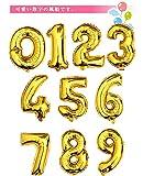 (ムーン ボート)MOON BOAT バルーン数字 風船約90CMのビッグナンバーバルーン バースデー 飾りパーティー バースディ 装飾 飾付 飾り付け (2) MOON