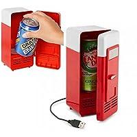 新しいデザイン人気ミニUSB冷蔵庫クーラー冷蔵庫飲料ドリンク缶クーラー/ Warmer forノートPC / PC