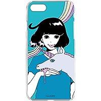 hare. iPhone8 ケース クリア ハード プリント ユニコーンE (hr-005) スリム 薄型 WN-LC100889