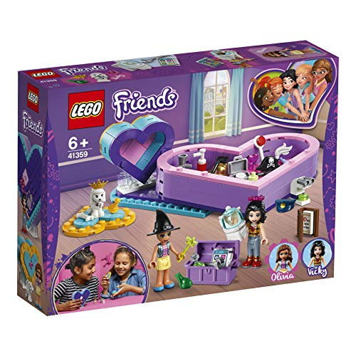 レゴ(LEGO) フレンズ 2人のハートの小物入れ オリビア&ヴィッキー 41359