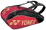 ヨネックス(YONEX) テニス ラケットバック 6 (リュック付き、テニス6本用) レッド BAG1602R
