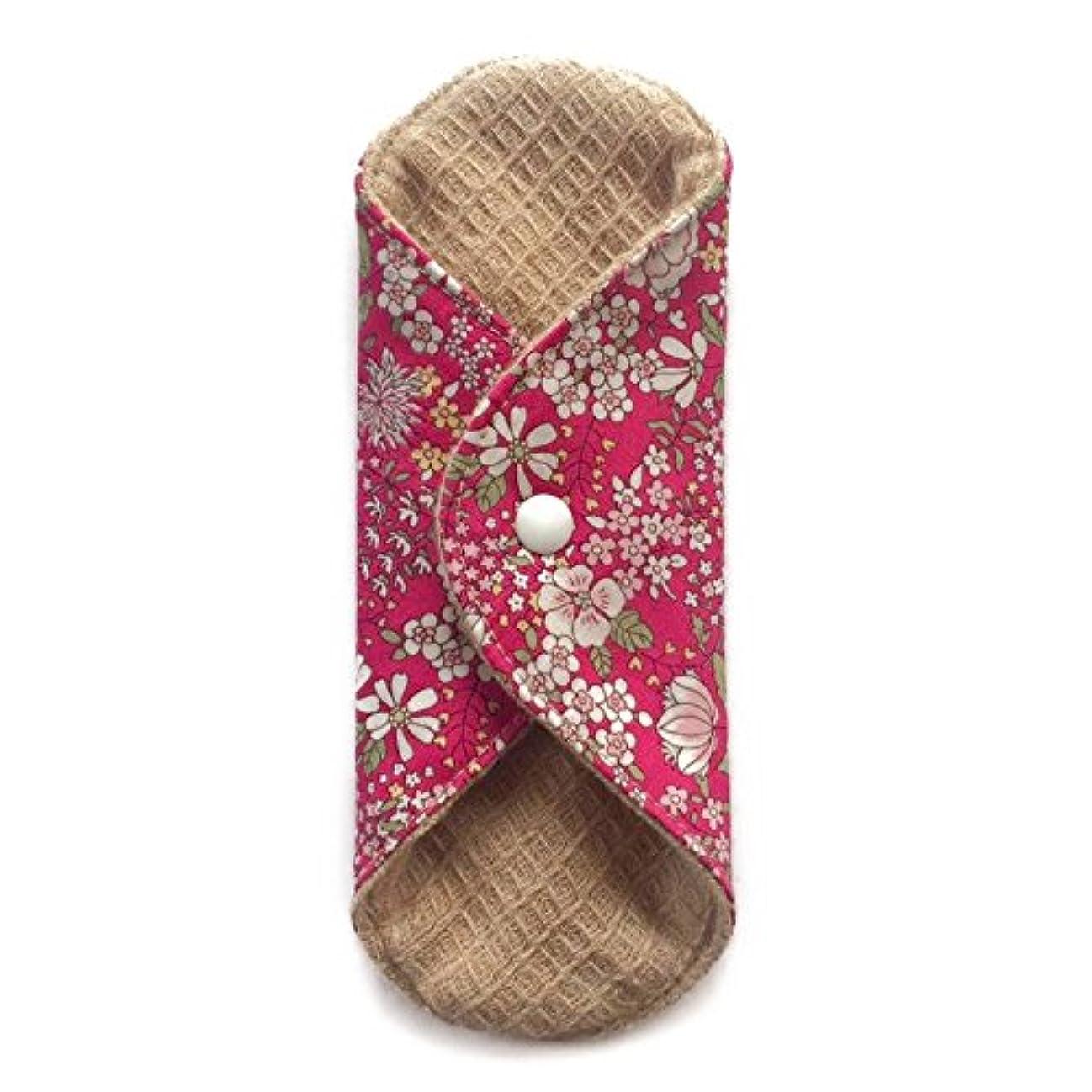 廃止する証拠病気の華布のオーガニックコットンの極み あたため布 Sサイズ (約13×約13×約0.6cm) 雅(ローズ)