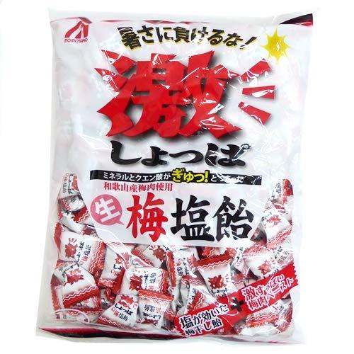 桃太郎製菓 激しょっぱ生梅塩飴 1kg×10袋