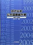 近代日本公共図書館年表―1867~2005