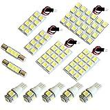 【断トツ303発!!】 UCF30/31 セルシオ LED ルームランプ 12点セット [H12.8~H18.5] トヨタ 基板タイプ 圧倒的な発光数 3chip SMD LED 仕様 室内灯 カー用品 HJO (¥ 3,480)