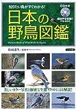 日本の野鳥図鑑―CD付き 知りたい鳥がすぐわかる! 画像