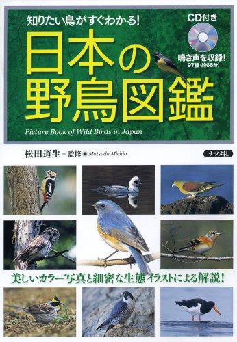 日本の野鳥図鑑—CD付き 知りたい鳥がすぐわかる!