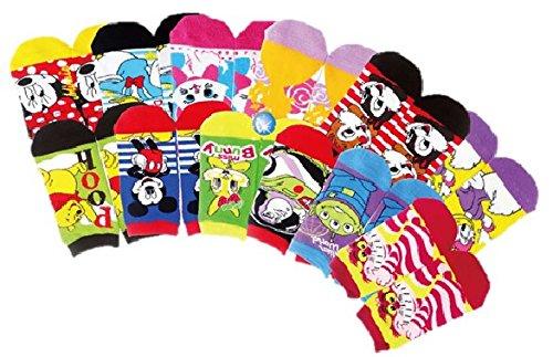 Disney(ディズニー) オールスター靴下 12種類セット...