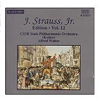 J.シュトラウスII世全集 管弦楽曲及び合唱曲 完全全集 第12集