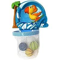 VERZABO WHALE NET SCOOPER ? Bathtub Bath Toy Set for 12 Months Plus Kids [並行輸入品]