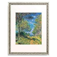 クロード・モネ Claude Monet 「Conifers at Varengeville. 1882」 額装アート作品