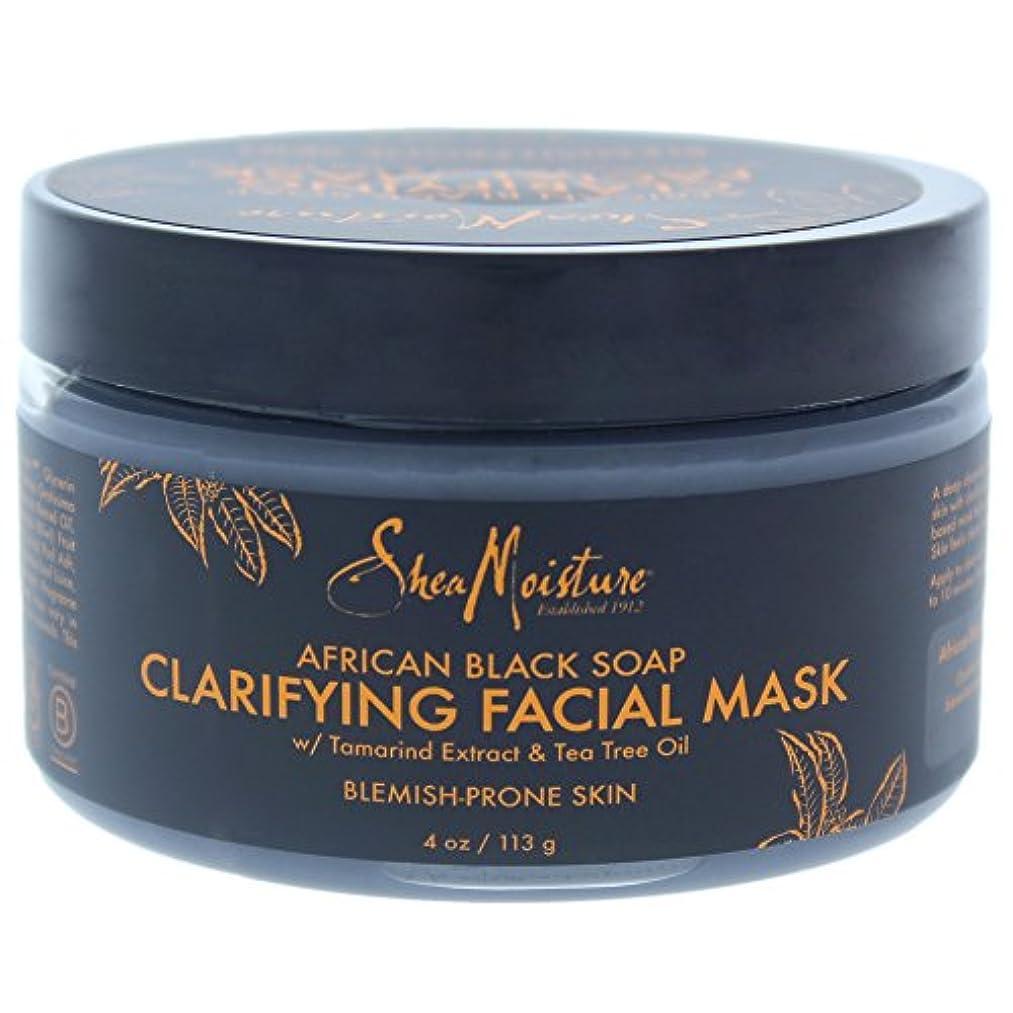 換気する中世の開始アフリカンブラックソープクラリファイジングフェイシャルマスク African Black Soap Clarifying Facial Mask
