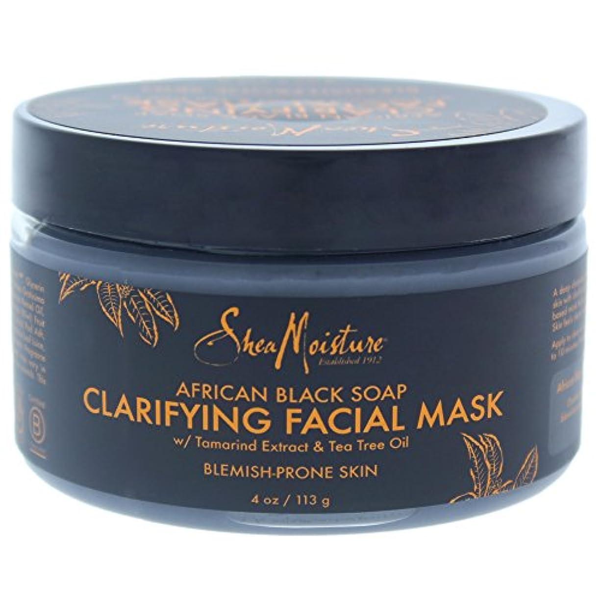 チェリー底不倫アフリカンブラックソープクラリファイジングフェイシャルマスク African Black Soap Clarifying Facial Mask