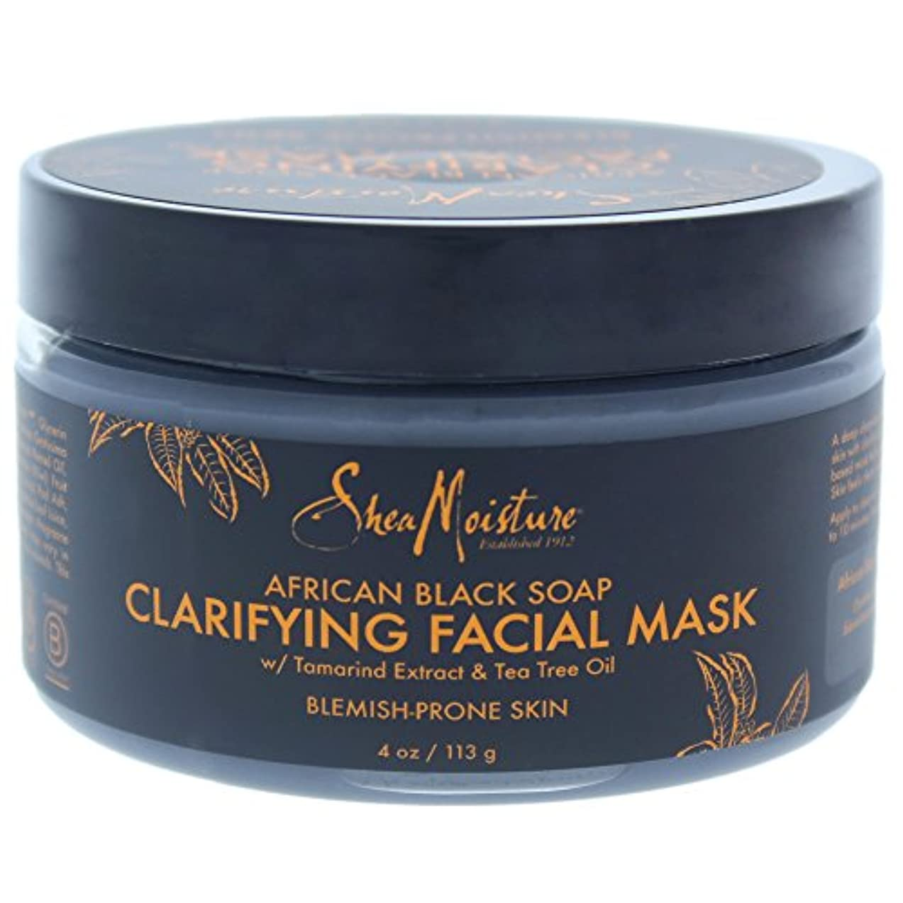 印象派シンプルさ抜け目のないアフリカンブラックソープクラリファイジングフェイシャルマスク African Black Soap Clarifying Facial Mask