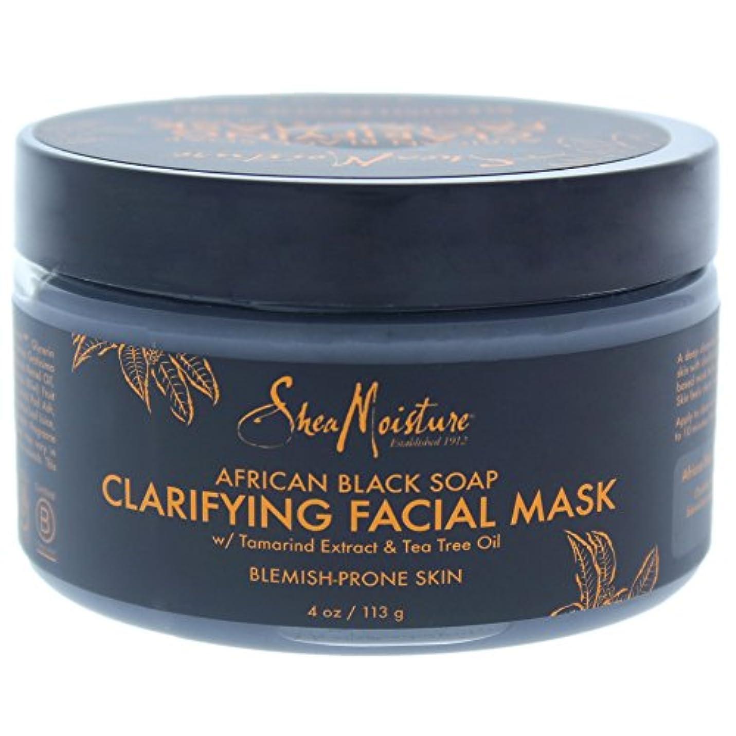信者可聴する必要があるアフリカンブラックソープクラリファイジングフェイシャルマスク African Black Soap Clarifying Facial Mask