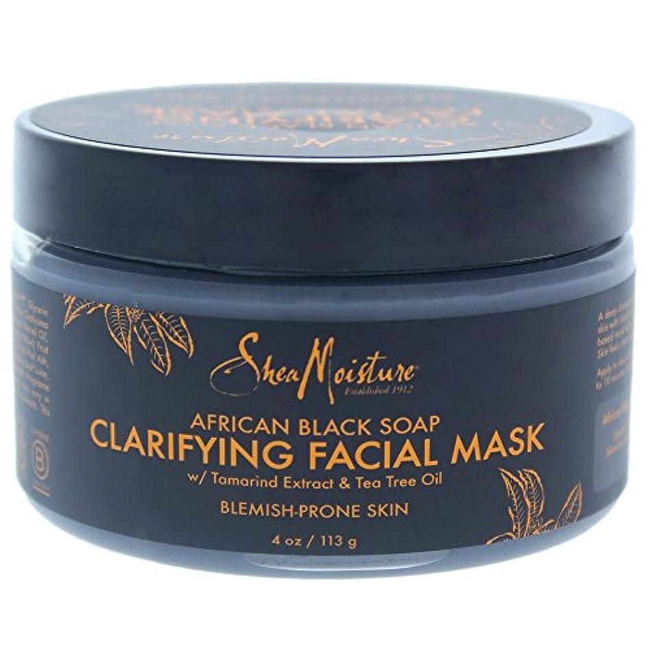 ガラガラ機会拒絶するアフリカンブラックソープクラリファイジングフェイシャルマスク African Black Soap Clarifying Facial Mask