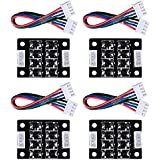 SODIAL 4PCS TL-Smoother V1.0 Addon Module for 3D Printer Stepper Motor Drivers Accessories