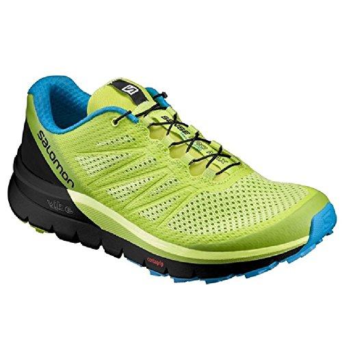 ランニングシューズ トレイルランニング メンズ サロモン SALOMON センスプロマックス SENSE PRO MAX 長距離 ロード ライトトレイル トレラン 男性 スニーカー 運動靴 スポーツ/SenceProMax (25.5cm(US7.5), (L392038)LimePunch)
