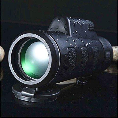 YOKINO 単眼鏡 望遠鏡 35x50調整 ミニ単眼望遠鏡 HD ナイトビジョン超小型 超軽量 強力 スポーツ 観戦 ライブ コンサート レジャー 旅行 など アウトドア (黒)