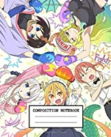 Composition Notebook: Dragon Maid Soft Glossy Cover Wide Ruled Lined Pages Book 7.5 x 9.25 Inches 110 Pages