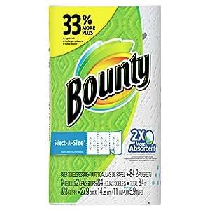 Bounty (バウンティ) ペーパータオル セレクトアサイズ プリント 84カット