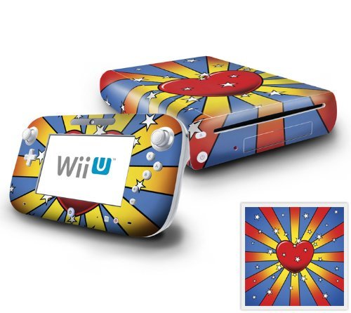 Nintendo Wii U Console and GamePad Decal skin Sticker - Have a Lovely Day by DecalSkin [並行輸入品] DecalSkin