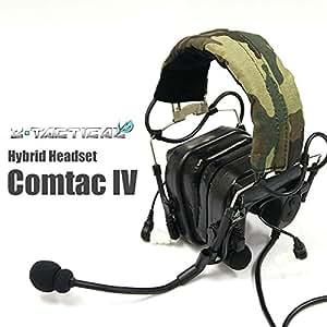 Z·TACTICAL社製 Comtac4タイプ ヘッドセット【BK】