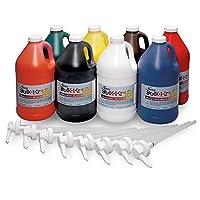 Nasco 9100149 Bulk-Krylic Acrylic Paint 1/2 gal (Pack of 8) [並行輸入品]