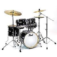 Pearl パール EXX785/C No.31/ジェットブラック 小口径ドラムセット