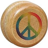 Wooden Peace Yo-Yo - Made in USA [Floral] [並行輸入品]